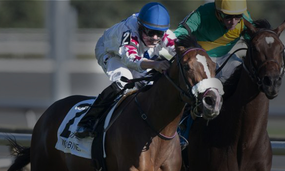 Ontario Colleen Stakes at Woodbine, won by Caren